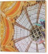 Galeries Lafayette Inside 3 Art Wood Print
