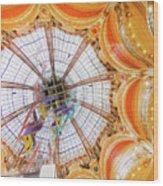 Galeries Lafayette Inside 4 Art Wood Print