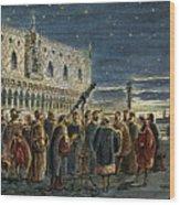 Galileo Galilei, 1564-1642 Wood Print