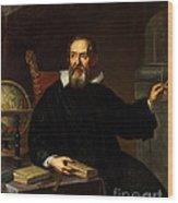 Galileo Galilei, Italian Astronomer Wood Print