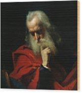Galileo Galilei Wood Print