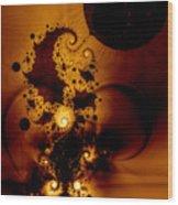 Galileo's Muse Wood Print