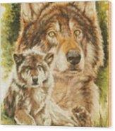 Gallant Wood Print
