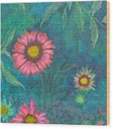 Gallardia Wood Print