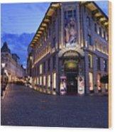 Gallerija Emporium Luxury Department Store In The Urbanc House O Wood Print