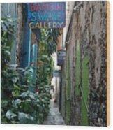 Gallery Alley Wood Print