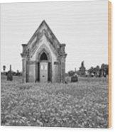 Galveston Old City Cemetery Wood Print