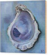 Galveston Oyster Shell Wood Print