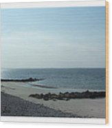 Galway Bay At Salt Hill Park Galway Ireland Wood Print