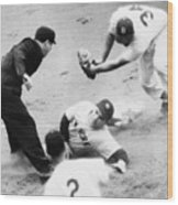 Game Four Of The 1949 World Series Wood Print