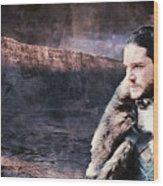 Game Of Thrones. Jon Snow. Wood Print