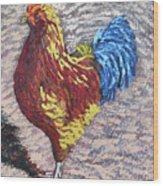 Gamecock Wood Print
