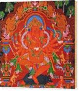 Ganapati 5 Wood Print