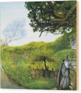 Gandalf Houses Tolkien The Magician Wood Print
