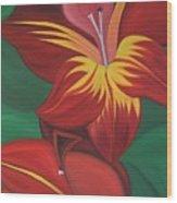 Gandavenis Hybrid No.2  Wood Print