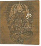 Ganesa Wood Print