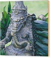 Ganesha Ganesa Ganapati Vinayaka Pillaiyar Hindu Pantheon Wood Print
