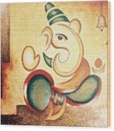 Ganesha's Blessing Wood Print
