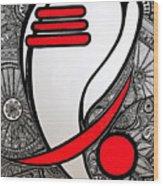 Ganesha_the Elephant God Wood Print