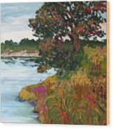 Ganges Tree Wood Print