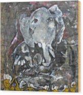 Ganpati 4 Wood Print