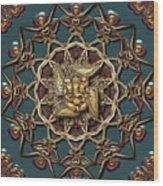 Ganpati Mandala  Wood Print