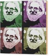 Garcia Seein Double Wood Print by Robert Margetts