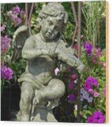 Garden 27 Wood Print
