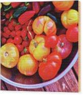 Garden Abundance 2 Wood Print