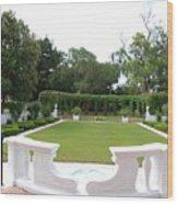Garden At Crane Cottage Wood Print