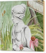 Garden Beauty Wood Print
