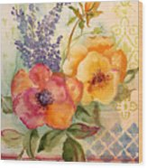 Garden Beauty-jp2955b Wood Print