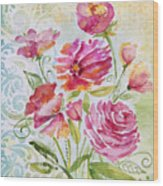 Garden Beauty-jp2957 Wood Print