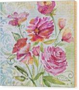 Garden Beauty-jp2957b Wood Print