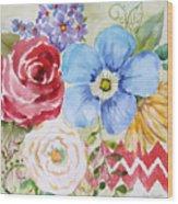 Garden Beauty-jp2958b Wood Print