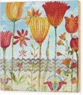Garden Beauty-jp2960 Wood Print