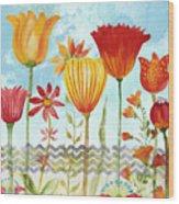 Garden Beauty-jp2960b Wood Print