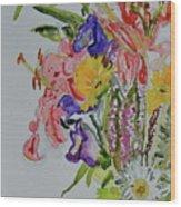 Garden Bouquet Wood Print