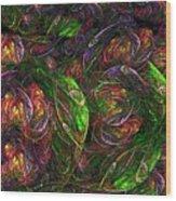 Garden Bright  Wood Print