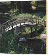Garden Crossing Wood Print
