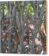 Garden District 2 Wood Print