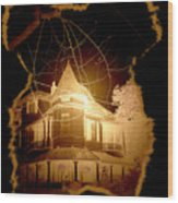 Garden District Glowing Wood Print