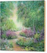 Garden Dreams Wood Print