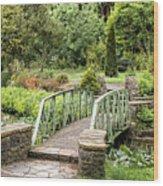 Garden Dublin Wood Print