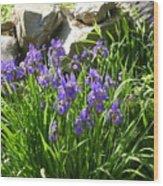 Garden Elegance Wood Print
