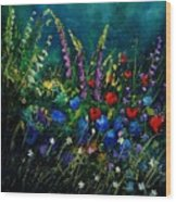 Garden Flowers 56 Wood Print