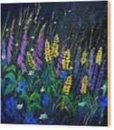 Garden Flowers 679080 Wood Print