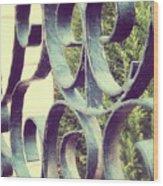 Garden Gate 2 Pair Wood Print