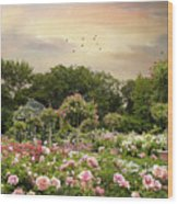 Garden Grace Wood Print