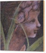 Garden Nymph Wood Print